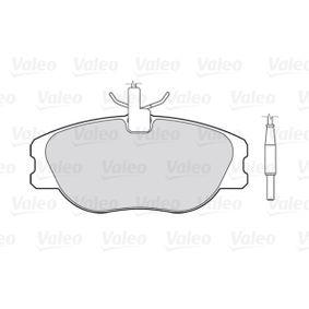 Pastillas de freno VALEO (301064) para FIAT SCUDO precios