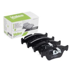 Bremsbelagsatz, Scheibenbremse VALEO Art.No - 301357 OEM: 24204420 für MERCEDES-BENZ, MITSUBISHI kaufen