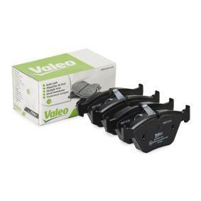 Bremsbelagsatz, Scheibenbremse VALEO Art.No - 301409 OEM: 34116761277 für BMW kaufen
