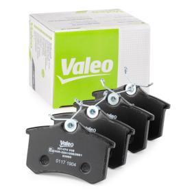 6025371650 für VW, AUDI, FORD, RENAULT, SKODA, Bremsbelagsatz, Scheibenbremse VALEO (301474) Online-Shop