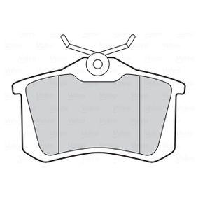 VALEO RENAULT MEGANE Brake pads (301474)