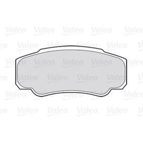 VALEO Bremsbelagsatz, Scheibenbremse 425468 für FIAT, PEUGEOT, CITROЁN bestellen