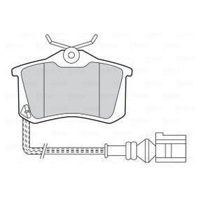 VALEO Bremsbelagsatz, Scheibenbremse 5K0698451B für VW, AUDI, SKODA, SEAT, SMART bestellen
