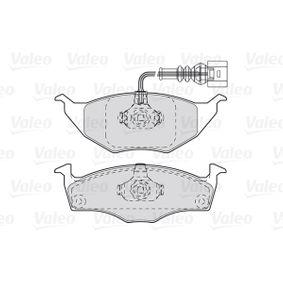 VALEO Bremsbelagsatz, Scheibenbremse 8Z0698151 für VW, AUDI, SKODA, SEAT bestellen