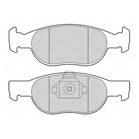 Brake discs and pads 301605 VALEO