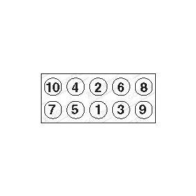 AUDI 100 1.8 88 PS ab Baujahr 02.1986 - Zylinderkopfschrauben (22-39001B) GOETZE Shop