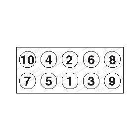 Болт на цилиндровата глава 22-72002B GOETZE