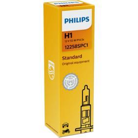 12258SPC1 Glühlampe, Fernscheinwerfer von PHILIPS Qualitäts Ersatzteile