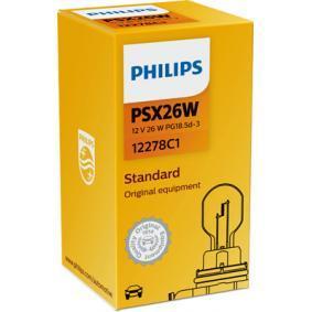 Glühlampe, Fernscheinwerfer 12278C1 Online Shop
