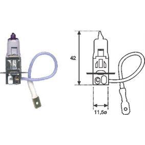 Glühlampe, Nebelscheinwerfer 002563100000 Online Shop