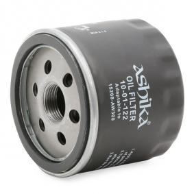 ASHIKA 10-01-122 Ölfilter OEM - 1651084A11000 SUZUKI, TOFAS günstig