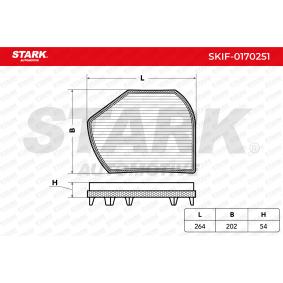 Filter, Innenraumluft STARK Art.No - SKIF-0170251 OEM: B66809901 für MERCEDES-BENZ, CHRYSLER kaufen