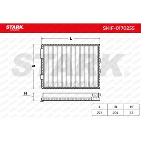 Filter, Innenraumluft STARK Art.No - SKIF-0170255 OEM: 64118391198 für BMW, MAZDA, MINI, ALPINA kaufen