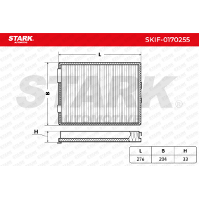 STARK Kabinenluftfilter SKIF-0170255