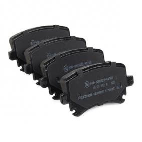 METZGER Bremsbelagsatz, Scheibenbremse 3C0698451A für VW, AUDI, SKODA, SEAT bestellen