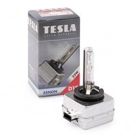 Glühlampe, Hauptscheinwerfer TESLA Art.No - B21005 OEM: 71779057 für FIAT, ALFA ROMEO, CHRYSLER, LANCIA kaufen