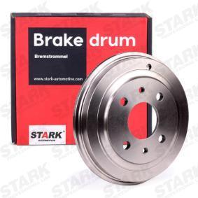 Bremstrommel STARK Art.No - SKBDM-0800042 OEM: 4373614 für FIAT, ALFA ROMEO, LANCIA, LADA, ZASTAVA kaufen
