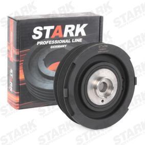 STARK SKBPC-0640007 Polea, cigüeñal OEM - 11232247565 BMW, FORD, BorgWarner (BERU), PATRON a buen precio