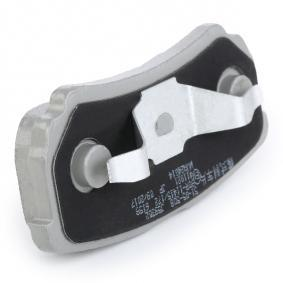 ASHIKA Jogo de pastilhas para travão de disco 8033001304411