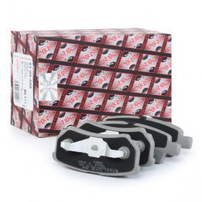 ASHIKA Jogo de pastilhas para travão de disco Eixo traseiro Número do artigo 51-05-508 preços