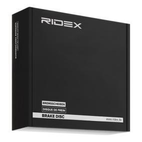 RIDEX Комплект спирачни дискове (82B0018)
