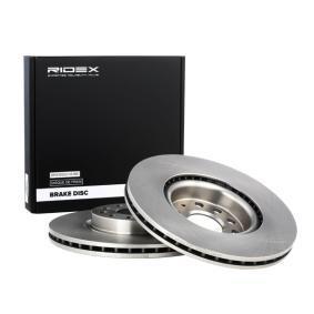 Golf V Хечбек (1K1) RIDEX Комплект спирачни дискове 82B0031