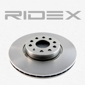 RIDEX 82B0031 Bremsscheibe OEM - 5Q0615301F AUDI, SEAT, SKODA, VW, VAG, FTE, METELLI, REMSA, BRINK, sbs, VW (SVW), ROTINGER günstig