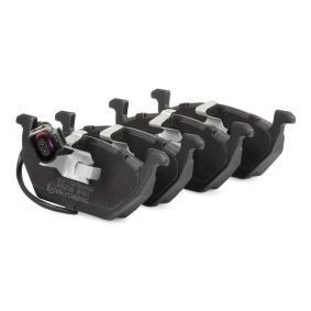 Σετ τακάκια, δισκόφρενα μπροστινός άξονας από τον κατασκευαστή RIDEX 402B0033 έως - 70% έκπτωση!