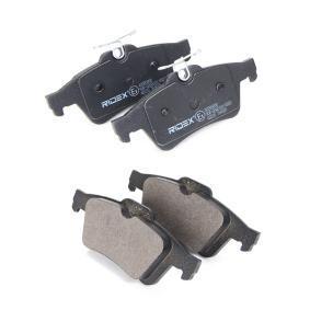 RIDEX Bromsbeläggssats, skivbroms 4059191313099