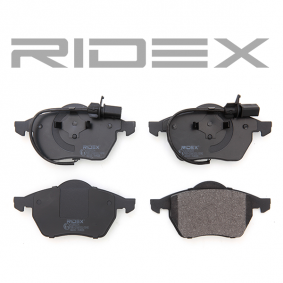 RIDEX Bremseklodser 4059191313174