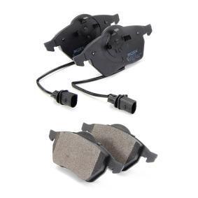 Bremsekloss sett framaksel fra produsent RIDEX 402B0034 opp til - 70% avslag!