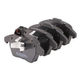 комплект спирачно феродо, дискови спирачки предна ос от производител RIDEX 402B0009 до - 70% отстъпка!