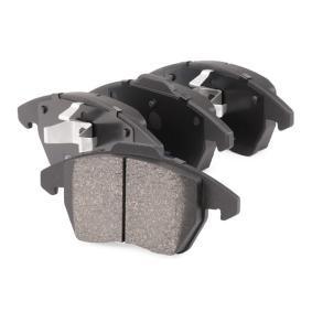 RIDEX Sada brzdových destiček, kotoučová brzda přední osa Článek № 402B0009 ceny