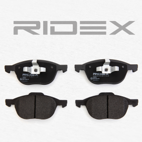 RIDEX 402B0011 Bremsbelagsatz, Scheibenbremse OEM - 30681739 CITROËN, FORD, MAZDA, VOLVO, AURADIA, FIT günstig
