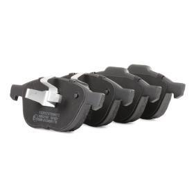 RIDEX Bremsbelagsatz, Scheibenbremse (402B0011) zum Bestpreis