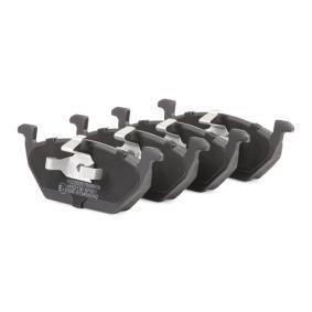 Bromsbeläggssats, skivbroms framaxel tillverkarens RIDEX 402B0019 upp till - 70% rabatt!