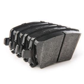 RIDEX Brake Pad Set, disc brake 4059191313396