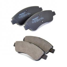 Brake Pad Set, disc brake Front Axle from manufacturer RIDEX 402B0049 up to - 70% off!