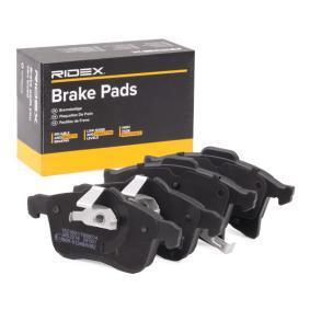 RIDEX Jogo de pastilhas para travão de disco Eixo dianteiro 238322383323844 conhecimento especializado