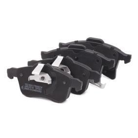 Jogo de pastilhas para travão de disco Eixo dianteiro do fabricante RIDEX 402B0007 até - 70% de desconto!
