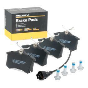 6Q0698451B für VW, AUDI, SKODA, SEAT, HONDA, Bremsbelagsatz, Scheibenbremse RIDEX (402B0364) Online-Shop