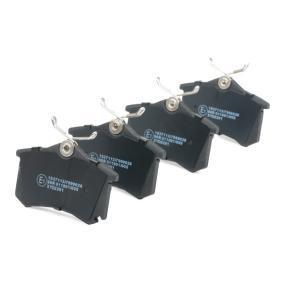 RIDEX Juego de pastillas de freno (402B0364)