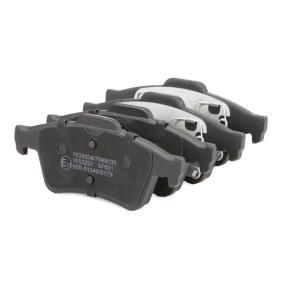 RIDEX комплект спирачно феродо, дискови спирачки EAN:4059191313891 онлайн магазин