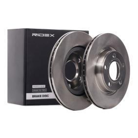RIDEX Bremsscheibe 82B0025 für AUDI A4 3.0 quattro 220 PS kaufen