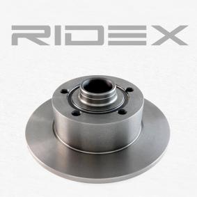 RIDEX 82B0019 Bremsscheibe OEM - 8D0615301B AUDI, SEAT, SKODA, VW, VAG, MINTEX, METELLI, A.B.S., BRINK, FI.BA günstig