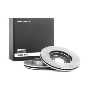 RIDEX 82B0215 Bremsscheibe OEM - 6NO615301D VW, VAG, AKEBONO günstig