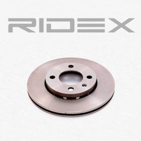 RIDEX 82B0012 Bremsscheibe OEM - 6N0615301F AUDI, SEAT, SKODA, VW, VAG, VW/SEAT, BREMBO, AKEBONO, METELLI, A.B.S., OPEN PARTS günstig