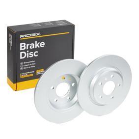 8P0098601P für VW, AUDI, SEAT, HONDA, SATURN, Bremsscheibe RIDEX (82B0252) Online-Shop