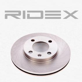 RIDEX 82B0044 Bremsscheibe OEM - 841615301 AUDI, FORD, PORSCHE, SEAT, SKODA, VW, VAG, ATE, VALEO, BENDIX, AKEBONO, A.B.S., OEMparts, BREMSI günstig