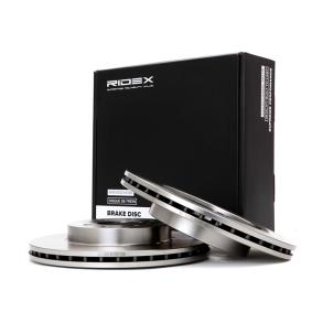 25 Хечбек (RF) RIDEX Спирачен диск 82B0085
